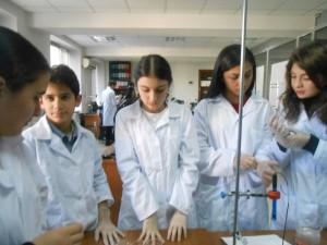 მოსწავლეები SALiS ლაბორატორიაში, 2014-2015